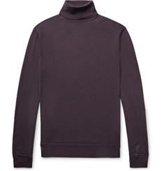 Ermenegildo Zegna Wool and Cashmere-Blend Rollneck Sweater