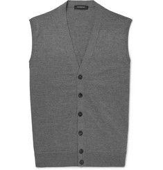 Ermenegildo Zegna Wool and Cashmere-Blend Vest