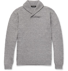 Ermenegildo Zegna Slim-Fit Shawl-Collar Cashmere Sweater