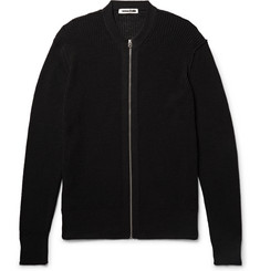 McQ Alexander McQueen - Cotton and Linen-Blend Zip-Up Cardigan