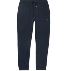 McQ Alexander McQueen Tapered Cotton-Blend Jersey Sweatpants