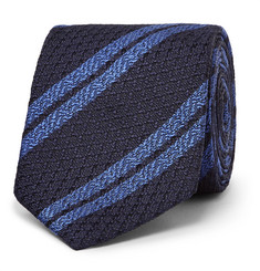 Ermenegildo Zegna - 7cm Striped Silk Tie