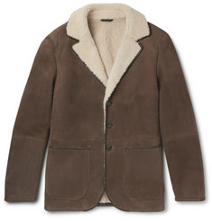 Loro Piana Bar Habor Shearling Jacket