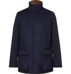 Loro Piana - Winter Voyage Suede-Trimmed Storm System Baby Cashmere Field Jacket