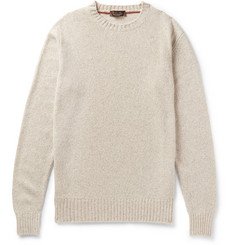 Loro Piana - Slim-Fit Mélange Baby Cashmere Sweater