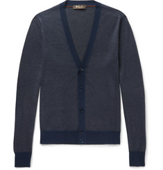Loro Piana Cashmere, Virgin Wool and Silk-Blend Cardigan