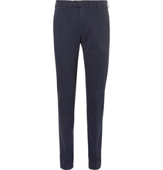 Loro Piana Kent Slim-Fit Stretch-Cotton Trousers