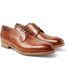 Paul Smith - Ernest Cap-Toe Polished-Leather Derby Shoes