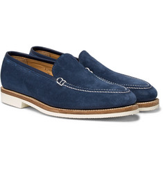George Cleverley - Riviera Suede Loafers