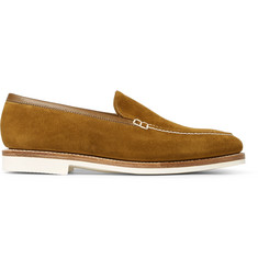 George Cleverley Riviera Suede Loafers