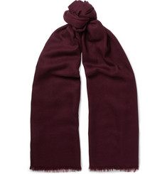 Loro Piana - Duo Cashmere and Silk-Blend Scarf