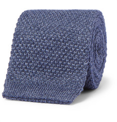 Loro Piana 6cm Cashmere and Silk-Blend Knitted Tie