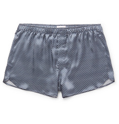 Derek Rose Brindisi Printed Silk-Satin Boxer Shorts
