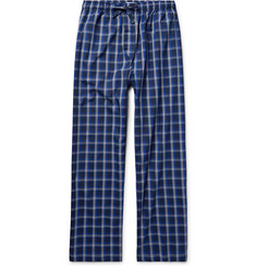 Derek Rose Barker Checked Cotton Pyjama Trousers