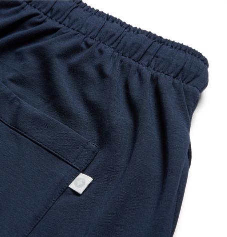 Derek Rose Basel Stretch-Micro Modal Jersey Pyjama Trousers in Storm Blue
