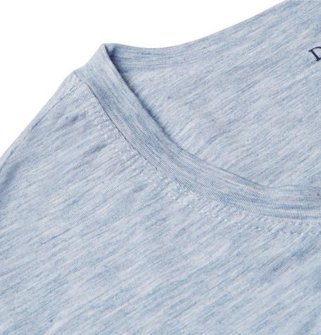 Derek Rose Ethan Mélange Stretch-Micro Modal Jersey T-Shirt