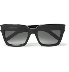 Saint Laurent Bold Square-Frame Acetate Sunglasses