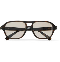 Brioni Aviator-Style Tortoiseshell Acetate Photochromic Sunglasses