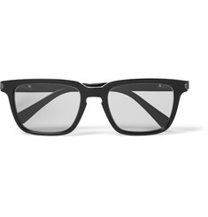 Brioni Square-Frame Acetate Photochromic Sunglasses
