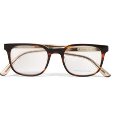 Bottega Veneta - D-Frame Tortoiseshell Acetate Optical Glasses