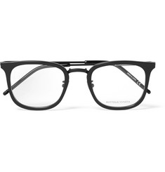 Bottega Veneta - D-Frame Titanium Optical Glasses