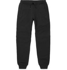 Belstaff New Ashdown Tapered Loopback Cotton-Jersey Sweatpants