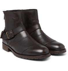 Belstaff - Trialmaster Waxed-Leather Boots