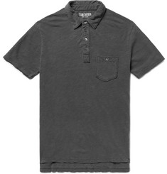 Todd Snyder Slub Cotton-Jersey Polo Shirt