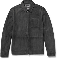 Todd Snyder - Suede Shirt Jacket