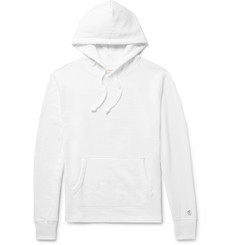 Todd Snyder + Champion Loopback Cotton-Jersey Hoodie