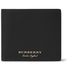 Burberry Embossed Leather Billfold Wallet