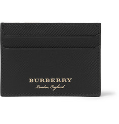 Burberry Embossed Leather Cardholder