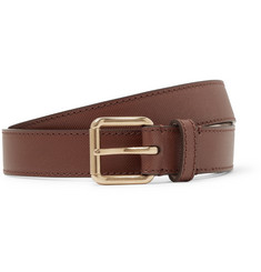 Burberry - 2.5cm Thomas Textured-Leather Belt