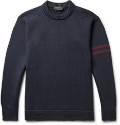 Prada Ribbed Virgin Wool Sweater