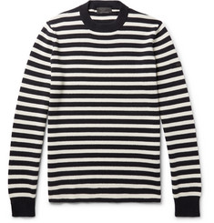 Prada - Striped Virgin Wool Sweater