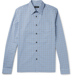 Prada Checked Cotton Shirt