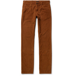 Prada Slim-Fit Cotton-Corduroy Trousers