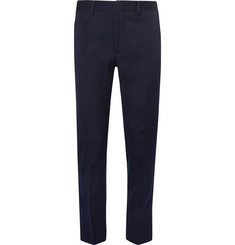 Prada Slim-Fit Brushed-Twill Trousers