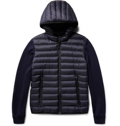 Prada - Virgin Wool and Quilted Shell Down Hooded Jacket