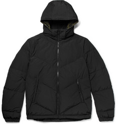Prada Quilted Shell Down Hooded Jacket