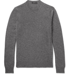 Prada - Slim-Fit Mélange Cashmere Sweater