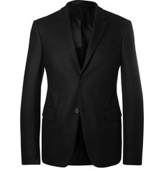 Prada - Black Slim-Fit Virgin Wool Blazer