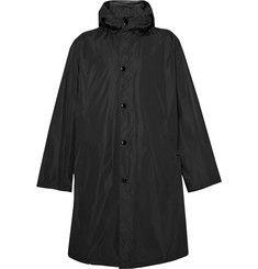 Prada Oversized Shell Hooded Raincoat
