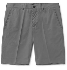 Prada Slim-Fit Poplin Bermuda Shorts