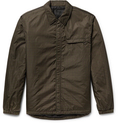 Prada - Padded Checked Shell Shirt Jacket