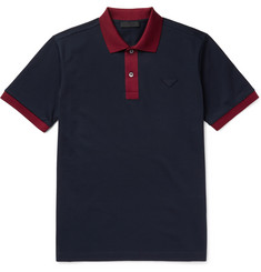 Prada Cotton-Piqué Polo Shirt