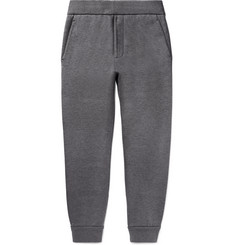 Prada Tapered Cotton-Blend Tech-Jersey Sweatpants