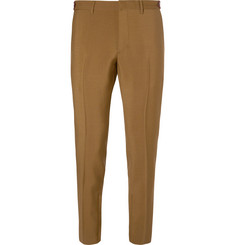 Prada Slim-Fit Mohair and Wool-Blend Trousers