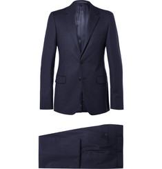 Prada - Midnight-Blue Slim-Fit Wool-Twill Suit