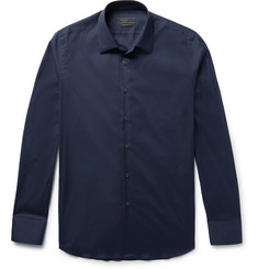 Prada - Slim-Fit Stretch Cotton-Blend Shirt